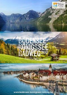 Bodensee- Konigssee Radweg 2017 Radlkatalog