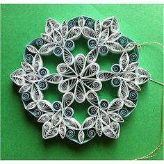 Beautiful piece of quilling