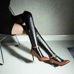 #New #Today http://www.reshopstore.com/products/over-the-knee-high-boots-patch-color in ReShop Store, #see it here http://www.reshopstore.com/products/over-the-knee-high-boots-patch-color
