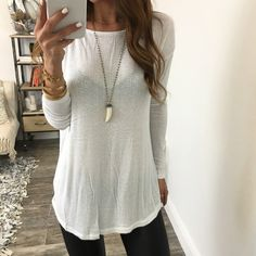 Robyn Round Neck Knit Top | OHM Boutique