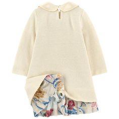 Monnalisa - Платье-пуловер из хлопка и ангоры - 214752