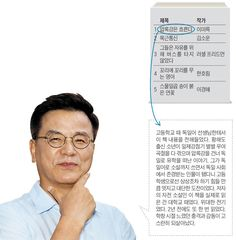 [당신의 리스트] 배우 강석우의 두고두고 읽고 싶은 추억의 책 5
