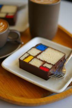 Piet Mondrian's Cake...<3