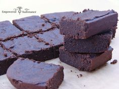 Paleo coconut flour brownies