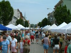 Old Market day in Chambersburg, Pa  celebrates the rebirth of Chambersburg after the 1864 burning. Celebrated in July each year during #chambersfest