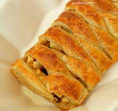 Apple strudel/ Apfelstrudel ~ sweet and spicy corner