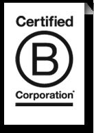 B Corporation - new type of corporation - using power for business for social good Check it out.