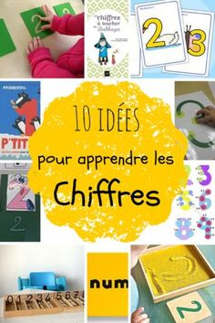Maths : Mieux Compter - (page Play School Activities, Toddler Activities, French Teaching Resources, Teaching French, Teaching Numbers, Teaching Math, Reggio Emilia, Number Sense Kindergarten, Petite Section