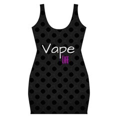 Vape Life Twirlz All Over Print Bodycon Dress #vape #vapelife #vapefashion #vapedress #fashion #dress
