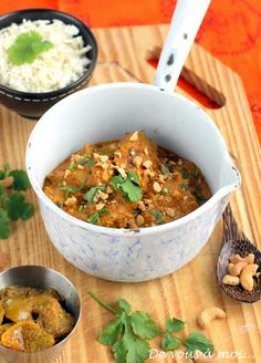 Agneau Makhani : Cuisine Indienne