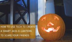 How to Build a High Tech Jack-O-Lantern (Video)