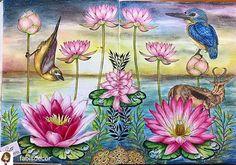 #wonderfulcoloring @Regrann_App from @fabisdecor -  Coloured by my mommy! <3  Book: Birdtopia by @fletcherdaisy  Media: scholar colored pencils and Daiso soft pastel for background  #birdtopia #daisyfletcher #coloringbook #coloredpencil #divasdasartes #arte_e_colorir #コロリアージュ #ぬりえ #大人のぬりえ #coloriage #livrosdecolorir #regrann
