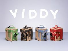Kelly Angood is raising funds for VIDDY: The world's cutest DIY pinhole camera on Kickstarter! VIDDY is the world's cutest DIY medium format & pinhole camera. It's fun, educational and takes less than 30 minutes to make! Christmas Pictures, Christmas Diy, Victorian Christmas, Holiday, Diy Pinhole Camera, Diy Dog Run, Carton Diy, Diy Cardboard, Cardboard City