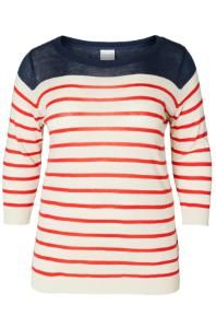 Junarose ling 3/4 top http://www.geweldigematen.nl/webshop/geweldige_kleding/truien/newling_3_4_sleeve_knit_junarose/
