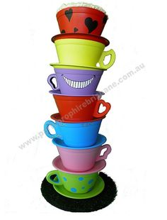 Tea Cups - Props available for hire from Party Prop Hire