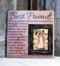 Bridesmaid Gift Maid of Honor Gift Best Friends by MadiKayDesigns