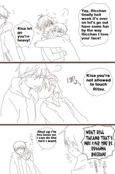 After reading Act 22 of SIH, this makes me laugh even more. XD Ritsu x Takano comic Credit goes to original artist