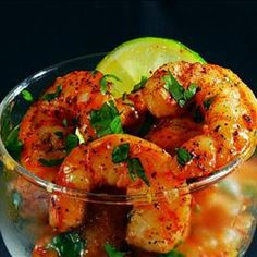 This recipe for Margarita Shrimp is oh so delicious. Look at the photo and you can see how wonderful and delicious this shrimp is.   PIC...