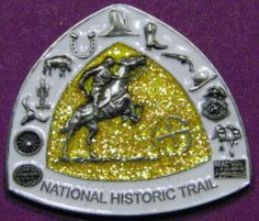 """Geocaching The Pony Express Trail"" California Geocoin Coin New Unactivated 