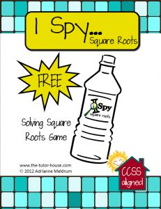 Square roots hands on