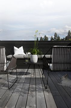Lawn Tips, Patio Decor - Exterior Porch Ideas, Rooftop Patio. Outdoor Areas, Outdoor Seating, Outdoor Decor, Rooftop Patio, Terrace, Deck Patio, Garden Furniture, Outdoor Furniture Sets, Terrasse Design