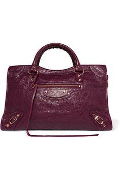 ab5008076eab Balenciaga - Classic City textured-leather tote
