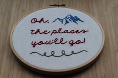 Oh The Places You'll Go. Nursery Inspirational by Pipi and Toto