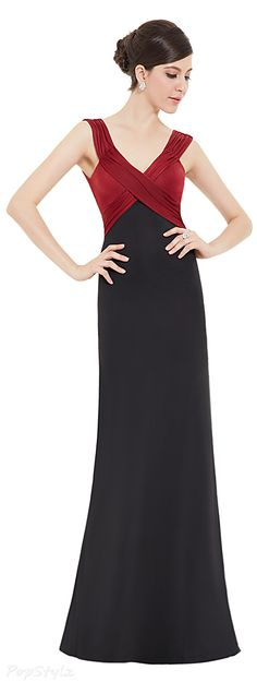 Ever Pretty 09051 Stretchy V-neck Evening Gown