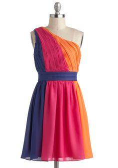 Color Me Glad Dress | Mod Retro Vintage Dresses | ModCloth.com
