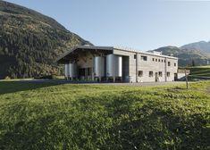 Sennaria Disentis by Swiss architect Gion A Caminada