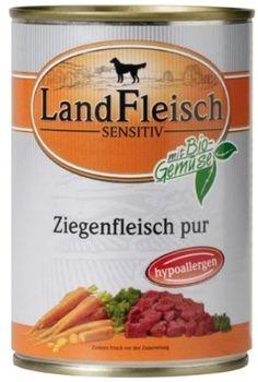 Aus der Kategorie Nassfutter  gibt es, zum Preis von EUR 34,97  Landfleisch Pur Pferdefleisch 400g
