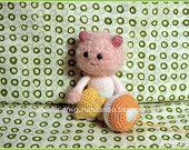 Amigurumi crochet  Pink Cat