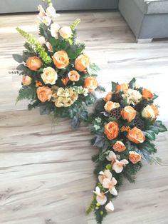 💕 Yanet 💕 - #x1f495 #yanet Flowers For Mom, Black Flowers, Grave Flowers, Funeral Flowers, Funeral Flower Arrangements, Floral Arrangements, Ikebana, Casket Sprays, Orange Roses
