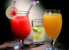 Chill Out - Drink, Cocktail, Red, Orange, Cherry, Refresh, Glass, Lime, Fruit, Cold Drink