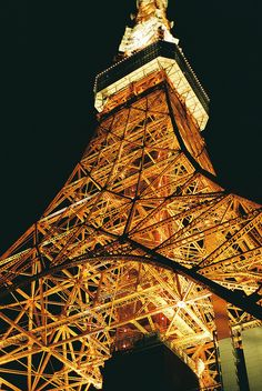 Tokyo Tower by _pinko_, via Flickr