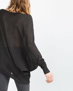 ASYMMETRICAL SWEATER from Zara REF. 6771/149  35.90 USD