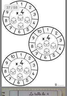 Soubor asi 50 listú k vyvození násobilky, vhodné ke kopírování Math Activities For Kids, Math For Kids, Hands On Activities, Fun Math, Teaching Math, Teaching Resources, Primary Education, Happy Birthday Images, Working With Children