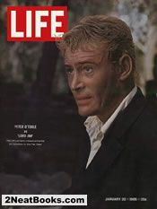 lPeter O'Toole  ife magazine cover: 22 Jan 1965