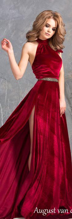 Платье из Королевского бархата, платье в макси длине, с разрезом, Платье вечернее. Ручная работа. Handmade . Fashion . Wedding . Dress . Dresses .