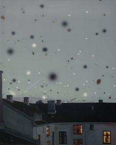 "Saatchi Online Artist Rolf Jansson; Painting, ""Black Matter"" #art"