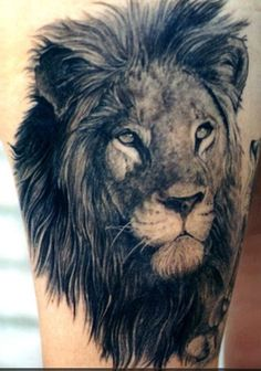 Lion tattoo, aka leo tattoo, is one of the most popular among animal tattoos. People love lion tattoos not only for its cool appearance but also for its Lion Arm Tattoo, Lion Shoulder Tattoo, Neck Tatto, Mens Lion Tattoo, Lion Tattoo Design, Tattoo Designs, Lioness Tattoo, Leo Tattoos, Future Tattoos