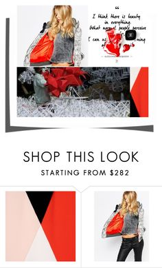 """There""s Beauty in Everything"" by ajiyfun ❤ liked on Polyvore featuring STELLA McCARTNEY, G-Star and Chanel"