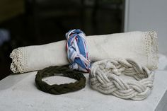 Sailor's Knot Bracelets #crafts #diy #rope #jewelry #tutorial #howto