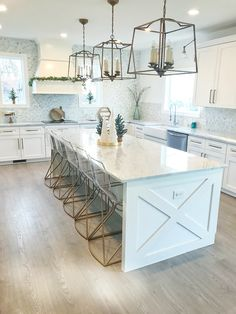 Kitchen island x design Kitchen island x design ideas Kitchen island x design Farmhouse  - sources and details on Home Bunch