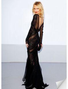 Backless+Dresses+via+@WhoWhatWear