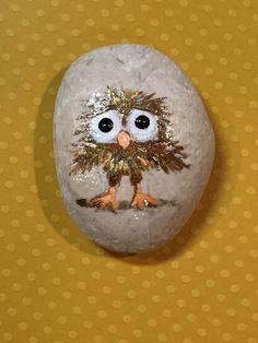 Little bird #RockPainting