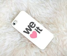 We heart it iPhone case Girly Phone Cases, Iphone Cases, Kily Jenner, Ipod, Mobile Cases, We Heart It, Smartphone, Apple, Sweetie Belle