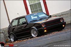 Volkswagen Golf GTI MK1 Love the #Stance? So does #Rvinyl, check out our full line of accessories at www.Rvinyl.com