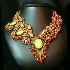 River Gold (From google images of beaded jewelry)