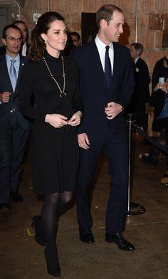 Pin for Later: Kate Middleton hat sich in diesem Jahr selbst übertroffen Bei einer Veranstaltung in New York im Dezember trug Kate ein Kleid von Seraphine.